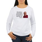 Dalai Lama 19 Women's Long Sleeve T-Shirt