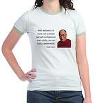 Dalai Lama 19 Jr. Ringer T-Shirt