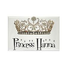 Princess Hanna Rectangle Magnet