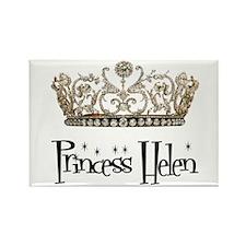 Princess Helen Rectangle Magnet