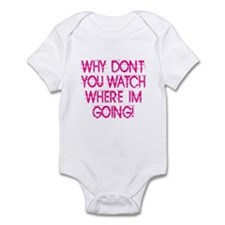 Why Don't You... Infant Bodysuit