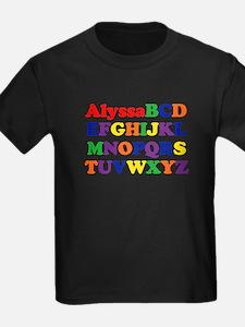 Alyssa - Alphabet T
