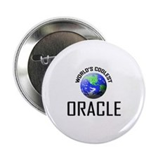 "World's Coolest ORACLE 2.25"" Button"