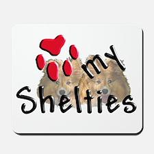 Love my Shelties Mousepad