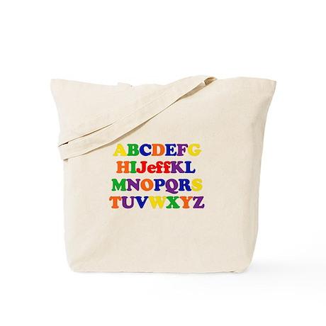 Jeff - Alphabet Tote Bag