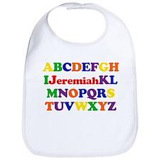 Jeremiah - Alphabet Bib