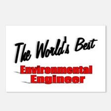 """The World's Best Environmental Engineer"" Postcard"