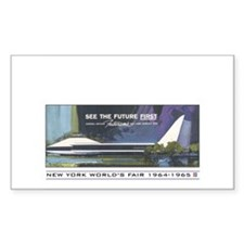See the Future FIRST Rectangle Decal