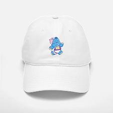 Lil Blue Elephant Runner Baseball Baseball Cap