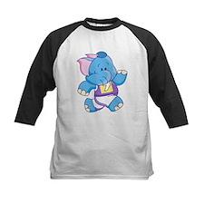 Lil Blue Elephant Runner Tee
