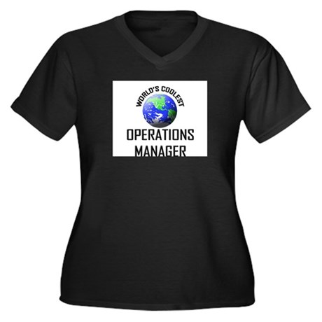 World's Coolest OPERATIONS MANAGER Women's Plus Si
