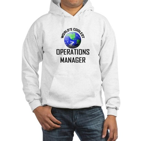 World's Coolest OPERATIONS MANAGER Hooded Sweatshi
