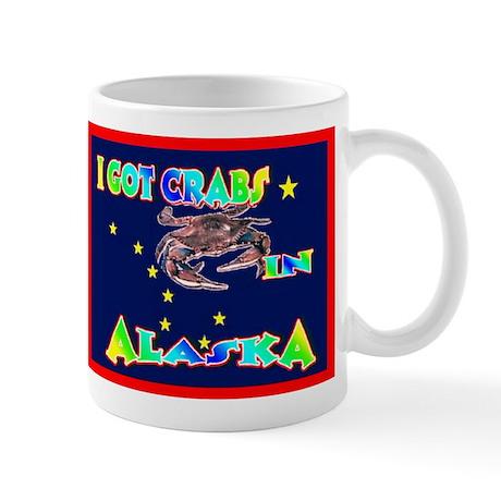 I Got Crabs in Alaska Mug