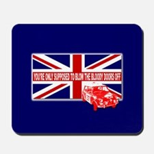 Italian Job Union Flag Mousepad