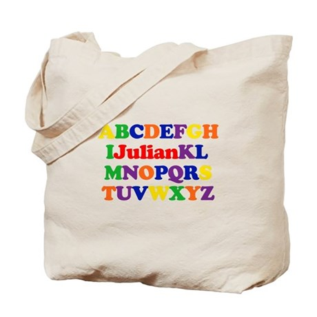 Julian - Alphabet Tote Bag
