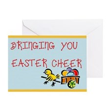 Easter Cheer Greeting Card