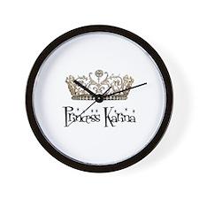 Princess Karina Wall Clock