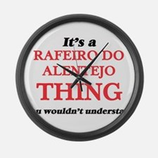 It's a Rafeiro Do Alentejo th Large Wall Clock