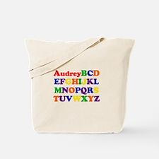Audrey - Alphabet Tote Bag