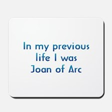PL Joan Of Arc Mousepad