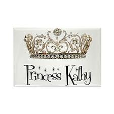 Princess Kathy Rectangle Magnet