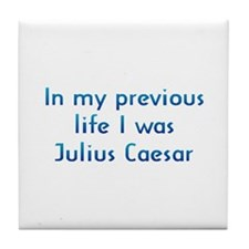 PL Juliuis Caesar Tile Coaster