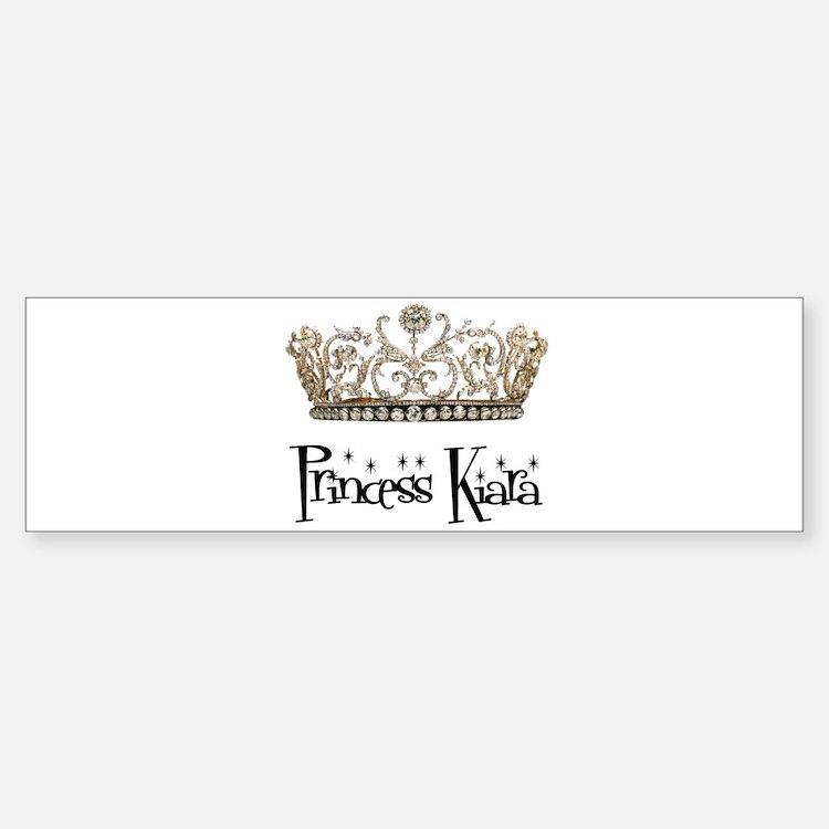 Princess Kiara Bumper Bumper Bumper Sticker
