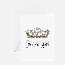 Princess Kiara Greeting Card
