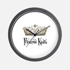 Princess Kiara Wall Clock