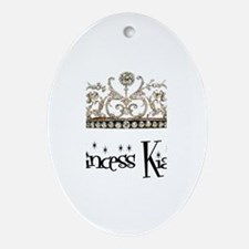 Princess Kiara Oval Ornament