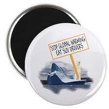 Polar Bears Global Warming Magnet