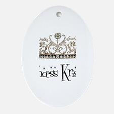 Princess Kristen Oval Ornament