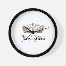 Princess Kristina Wall Clock