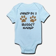 Owned By A Basset Hound Infant Bodysuit
