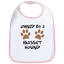 Owned By A Basset Hound Bib