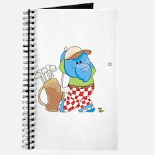 Lil Blue Elephant Golfing Journal