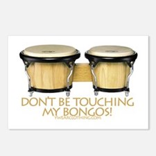 Don't Touch Bongos Postcards (Package of 8)