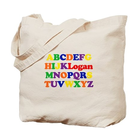 Logan - Alphabet Tote Bag