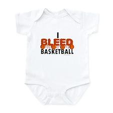 I Bleed Basketball Infant Bodysuit