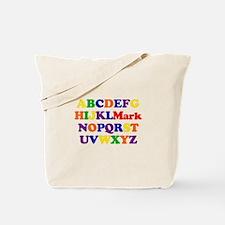 Mark - Alphabet Tote Bag