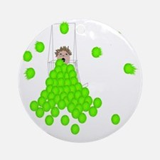 Flyball Shagger Ornament (Round)