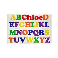 Chloe - Alphabet Rectangle Magnet