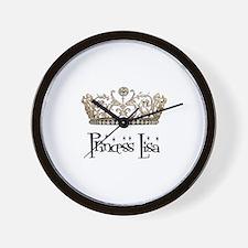 Princess Lisa Wall Clock