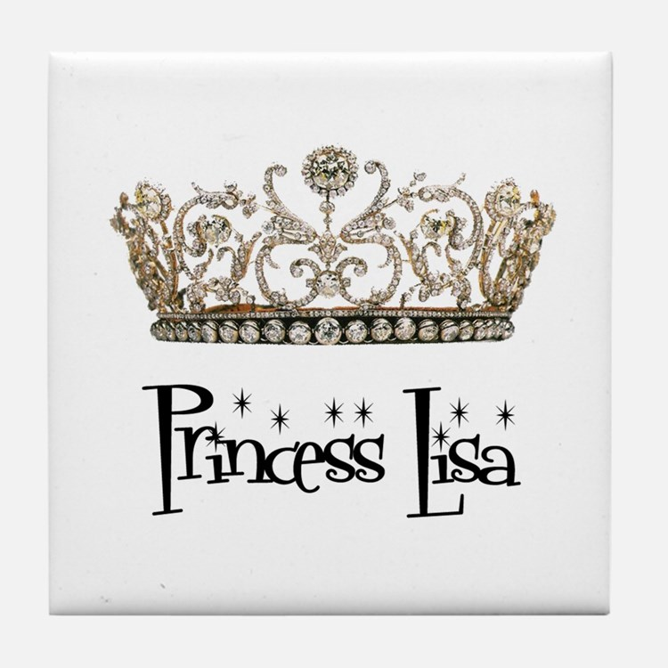 Princess Lisa Tile Coaster
