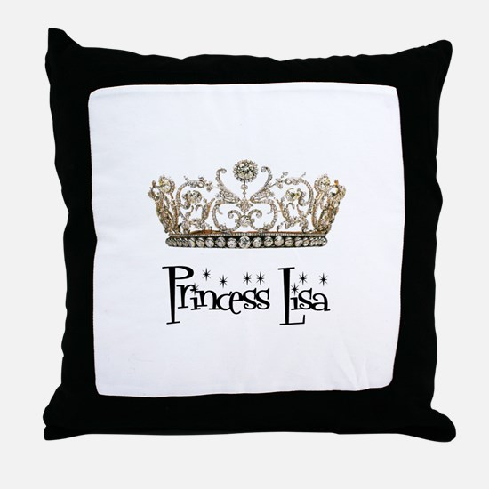 Princess Lisa Throw Pillow