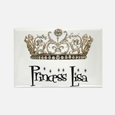 Princess Lisa Rectangle Magnet