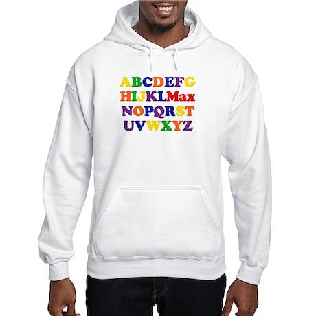 Max - Alphabet Hooded Sweatshirt