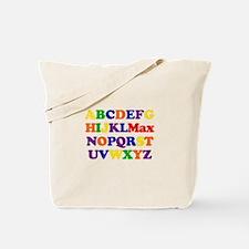 Max - Alphabet Tote Bag