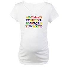 Claire - Alphabet Shirt