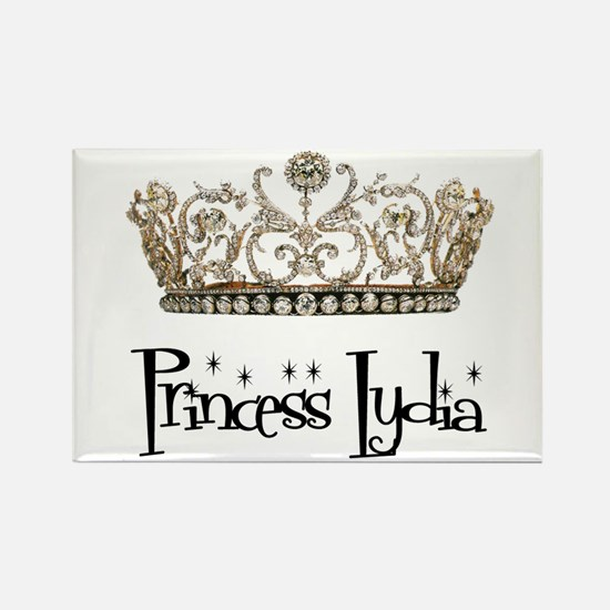 Princess Lydia Rectangle Magnet
